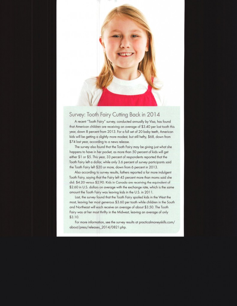Tooth Fairy Article 2014