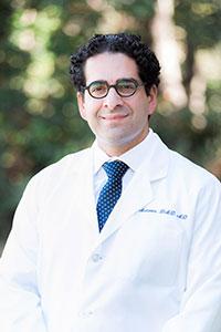 San Francisco oral surgeon Dr. Nima Massoomi