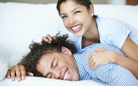 Man lying on bed will get corrective jaw surgery in San Francisco soon.